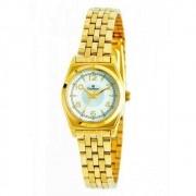 Relógio Champion Dourado Feminino CH26211H