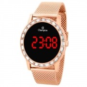 Relógio Champion Feminino Digital CH40160Z Rose