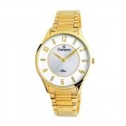 Relógio Champion Feminino Slim Cs28423h Dourado