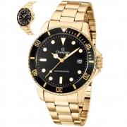 Relógio Champion Masculino Analógico Dourado CA31266U