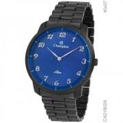 Relógio Champion Masculino Slim Preto Ca21802a
