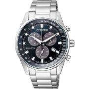 Relógio Citizen Eco-Drive Masculino Prata TZ20911F CA4381-81E
