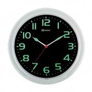 Relógio de Parede Herweg660016-196 Fundo Preto Fosforescente