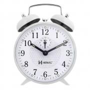 Relógio Despertador Mecânico Herweg - Branco 2206 B