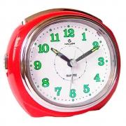 Relógio Despertador Quartz Big Bell Vermelho 239/1785.16