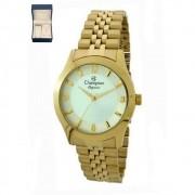 Relógio Dourado CHAMPION Ref:CN25314W