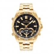 Relógio Dourado Masculino Technos Digiana BJK629AA/1P