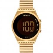 Relógio Euro Feminino Digital Dourado EUBJT016AA/4D