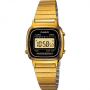 Relógio Feminino Casio Digital Vintage LA670WGA-1DF