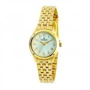 Relógio Feminino Champion Ch25972h - Branco/dourado