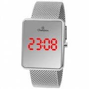 Relógio Feminino Champion Digital Espelhado Prata CH40080Y