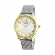 Relógio Feminino Champion Dourado CN24468H