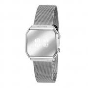 Relógio Feminino Digital Led Mondaine 32121L0MVNE3