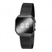 Relógio Feminino Digital Led Mondaine 32121LPMVPE4