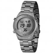 Relógio Feminino Digital Lince Prata SDM4638L SXSX