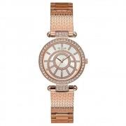 Relógio feminino guess ip rose analógico 92666LPGDRA3