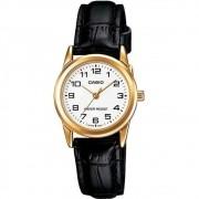 Relógio Feminino Ltp-v001gl 7budf Dourado Analogico - Casio