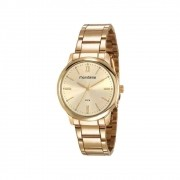Relógio Feminino Mondaine Analógico - 53804LPMGDE1 Dourado