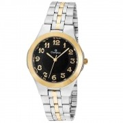 Relógio Feminino Prata Aço Champion CN20426P