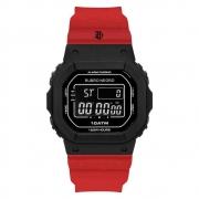 Relógio Flamengo Masculino Preto e Vermelho FLA0300JB/8R
