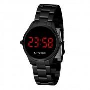 Relógio Lince Feminino Digital Preto MDN4618L VXPX