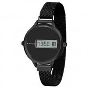 Relógio Lince Feminino Digital Preto Sdn4637l Pxpx