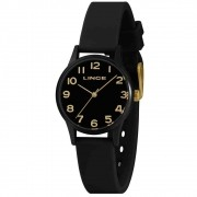 Relógio Lince Feminino Preto LRCJ101P