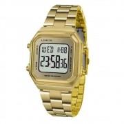 Relógio Lince Feminino Ref: Sdg616l Bxkx Digital Dourado
