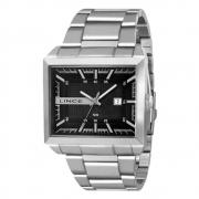 Relógio LINCE masculino quadrado prata MQM4267L P1SX