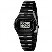 Relógio Lince SDN4608L BXPX Digital feminino preto