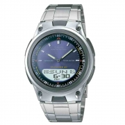 Relógio Masculino Anadigi Casio Aw-80d-2avdf - Prata