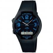 Relógio Masculino Anadigi Casio AW-90H-2BVDF