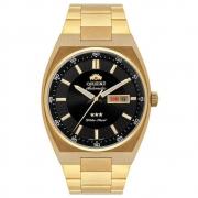 Relógio Masculino Analógico Dourado Orient 469GP087F P1KX