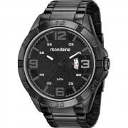 Relógio Masculino Calendário Robusto Preto 53834GPMVPE3