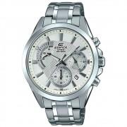 Relógio Masculino Cronógrafo Edifice Prata EFV-580D-7AVUDF