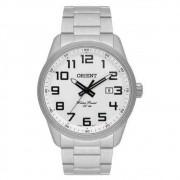 Relógio Masculino Orient Analógico Prateado Mbss1271 S2sx