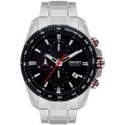 Relógio Orient Masculino Prata MBSSC181 P1SX