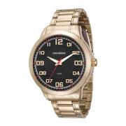 Relógio Mondaine Dourado Masculino 99142Gpmvde5