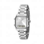 Relógio Mondaine Feminino Anadigi Prata 32216L0Mvne3
