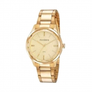 Relógio Mondaine Feminino Classic Dourado 53776LPMVDE3