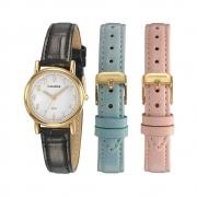 Relógio Mondaine Feminino Classic Dourado 83485LPMKDH1