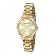 Relógio Mondaine Feminino Dourado 32208LPMVDE1