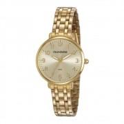 Relógio Mondaine Feminino Dourado 53779LPMVDE1