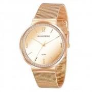 Relógio Mondaine Feminino Dourado 76746lpmvde1