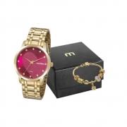 Relógio Mondaine Feminino Dourado 99486LPMKDE1K2