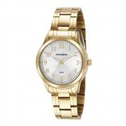 Relógio Mondaine Feminino Dourado 99560LPMVDE1