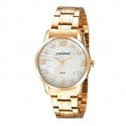 Relógio Mondaine Feminino Dourado 99568LPMVDE1