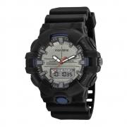 Relógio Mondaine Masculino 85009G0MVNP1 Preto e Cinza