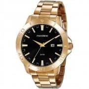 Relógio Mondaine Masculino 99491gpmvde2 Dourado C Calendário
