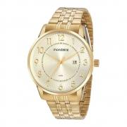 Relógio Mondaine Masculino Dourado 99513GPMVDE1